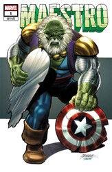 Marvel - Maestro # 1 George Perez 1:25 Variant