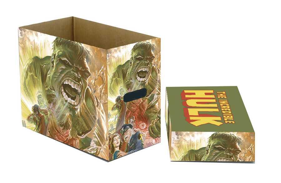 Marvel - MARVEL HULK GREEN GOLIATH Short Box- Kısa Çizgi Roman Kutusu