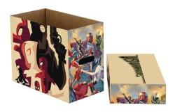NECA - Marvel Web Warriors Short Box- Kısa Çizgi Roman Kutusu