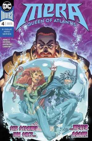 Mera Queen of Atlantis # 4