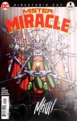DC - Mister Miracle Directors Cut # 1 Mitch Gerads İmzalı Sertifikalı