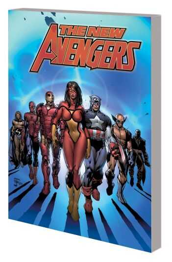 Marvel - New Avengers By Brian Michael Bendis Complete Collection Vol 1 TPB