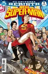 DC - New Super-Man # 1 Variant