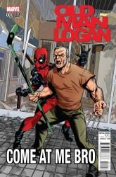 Marvel - Old Man Logan # 1 McKone Deadpool Variant
