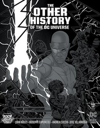 DC - OTHER HISTORY OF THE DC UNIVERSE # 1 (OF 5) CVR C METALLIC SILVER LOCAL COMIC SHOP DAY VAR