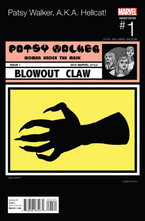 Marvel - Patsy Walker AKA Hellcat # 1 Pulido Hip Hop Variant F