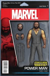 Marvel - Power Man and Iron Fist # 1 Action Figure Luke Cage Variant