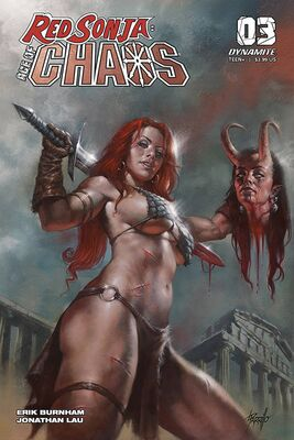 Red Sonja Age of Chaos # 3 Parillo Variant