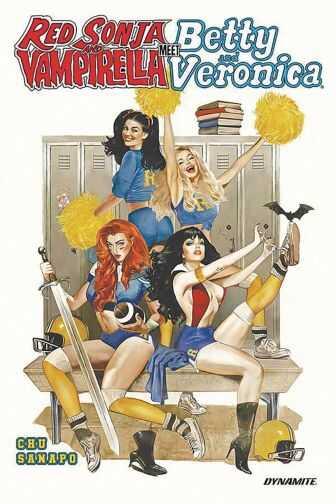 Dynamite - Red Sonja And Vampirella Meet Betty And Veronica TPB