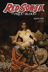 Dynamic Forces - RED SONJA PRICE OF BLOOD # 1 CVR A SUYDAM