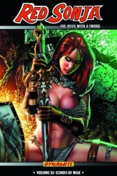 Dynamite - Red Sonja She-Devil Vol 11 Echoes Of War TPB