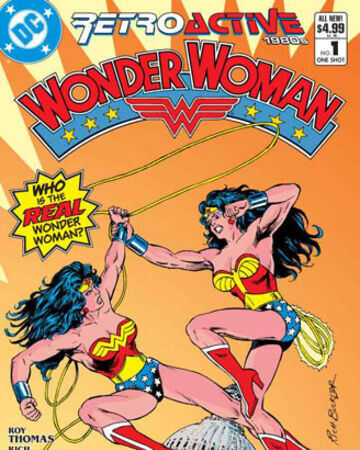 DC - Retroactive Wonder Woman 1980s # 1
