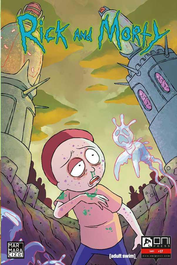 Marmara Çizgi - Rick and Morty Sayı 17