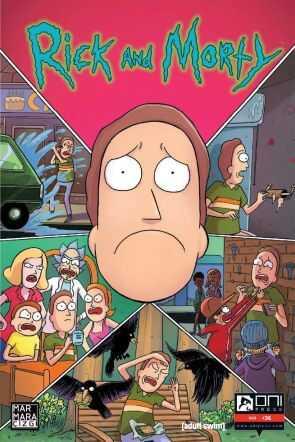 Marmara Çizgi - Rick and Morty Sayı 36