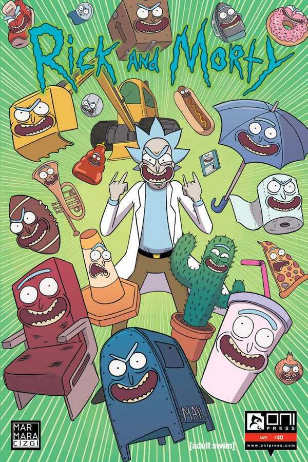Marmara Çizgi - Rick and Morty Sayı 40