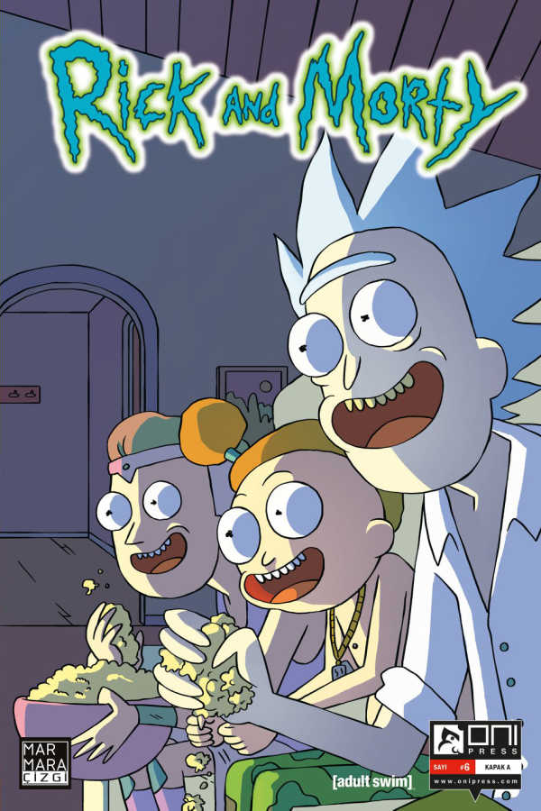 Rick and Morty Sayı 6 A Kapak