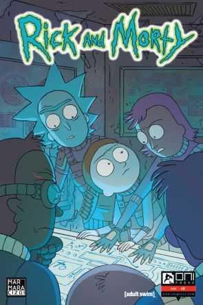 Marmara Çizgi - Rick and Morty Sayı 9