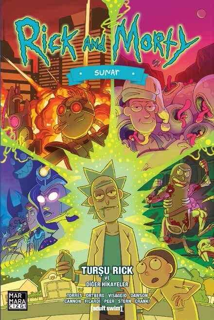 Marmara Çizgi - Rick And Morty Sunar - Turşu Rick Ve Diğer Hikayeler