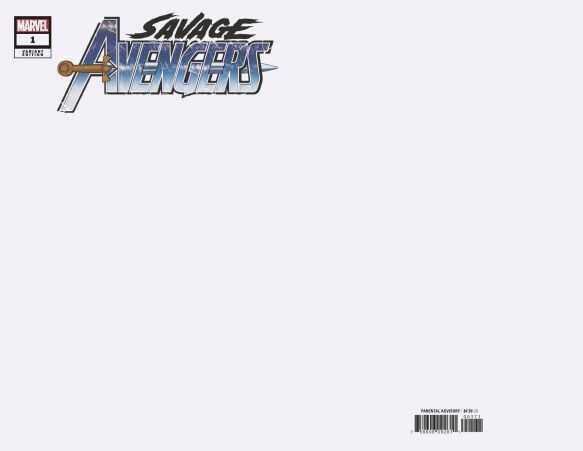 Marvel - Savage Avengers # 1 Blank Variant
