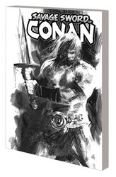 Marvel - Savage Sword Of Conan Vol 1 Cult Of Koga Thun Black And White Edition TPB