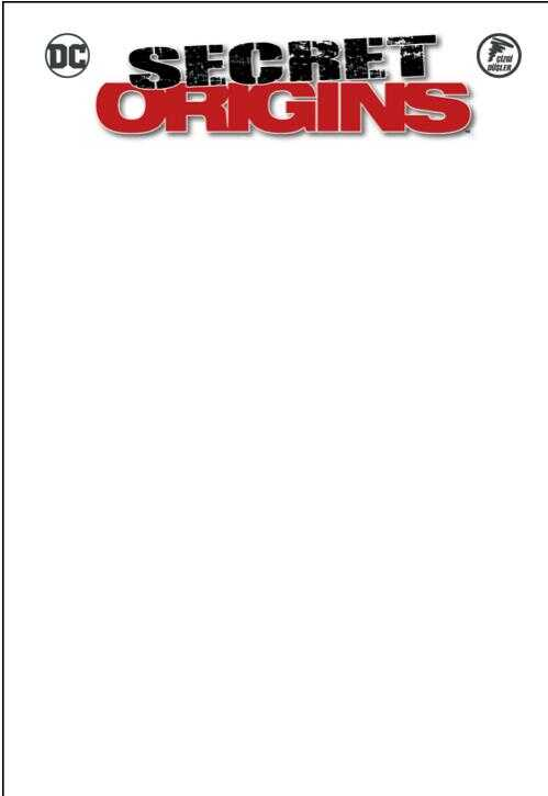 Çizgi Düşler - Secret Origins - Gizli Kökenler - Harley Quinn - Green Arrow - Robin Beyaz Blank
