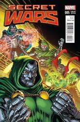 Marvel - Secret Wars # 5 Broderick Classic Variant