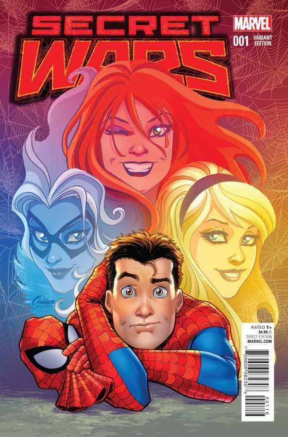 Marvel - Secret Wars # 1 Conner Wom Variant