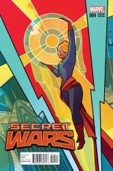 Marvel - Secret Wars # 4 Henderson Variant