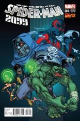 Marvel - Spider-Man 2099 # 4 1:20 Ferry Marvel 92 Variant