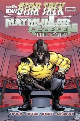 Presstij - Star Trek Maymunlar Gezegeni C Kapak