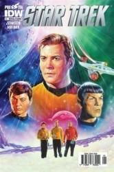 Presstij - Star Trek Sayı 1 Nostalji Kapak