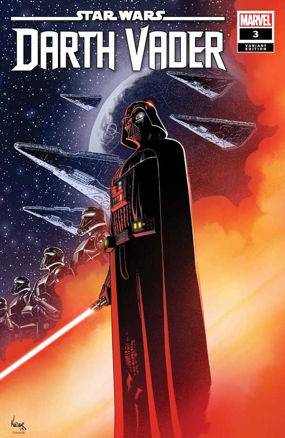 Marvel - Star Wars Darth Vader (2020) # 3 Aaron Kuder 1:25 Variant