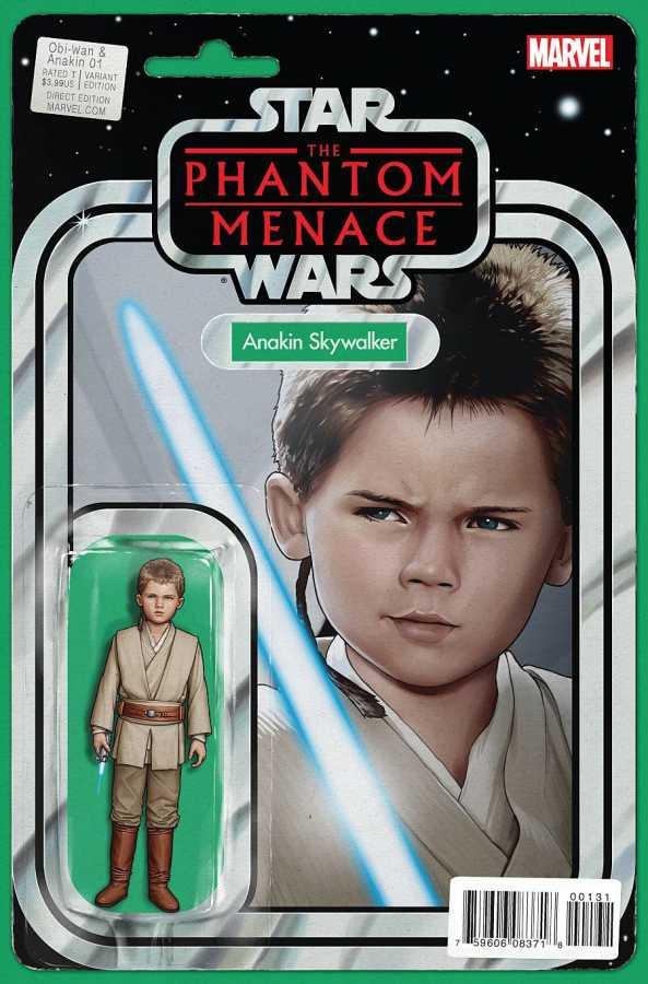 Marvel - Star Wars Obi-Wan & Anakin # 1 Christopher Action Figure Variant