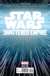 Marvel - Star Wars Shattered Empire # 1 Hyperspace Variant