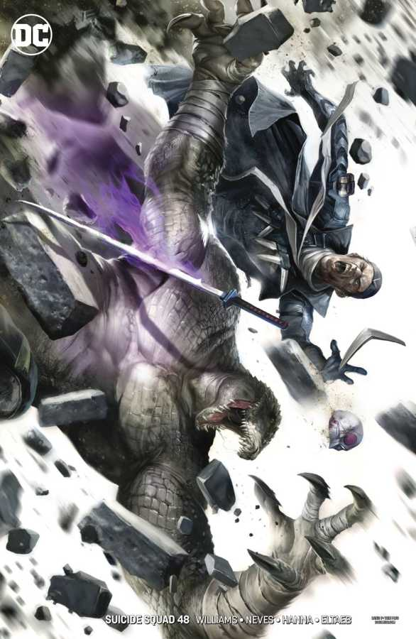 DC - Suicide Squad # 48 Mattina Variant