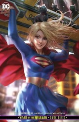 DC - Supergirl # 33 Card Stock Variant Recalled Edition