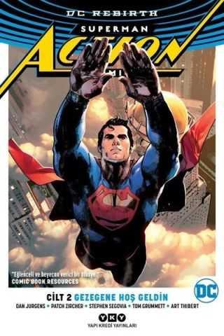 YKY - Superman Action Comics (Rebirth) Cilt 2 Gezegene Hoş Geldin