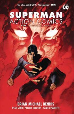 Superman Action Comics Vol 1 Invisible Mafia TPB