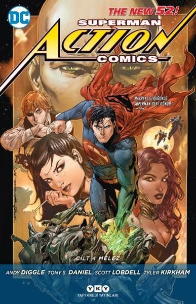 YKY - Superman Action Comics (Yeni 52) Cilt 4 Melez