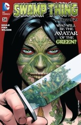 DC - Swamp Thing (New 52) # 34