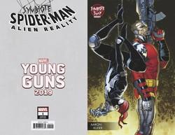 Marvel - Symbiote Spider-Man Alien Reality # 1 Kuder Young Guns Variant _Kopya(1)
