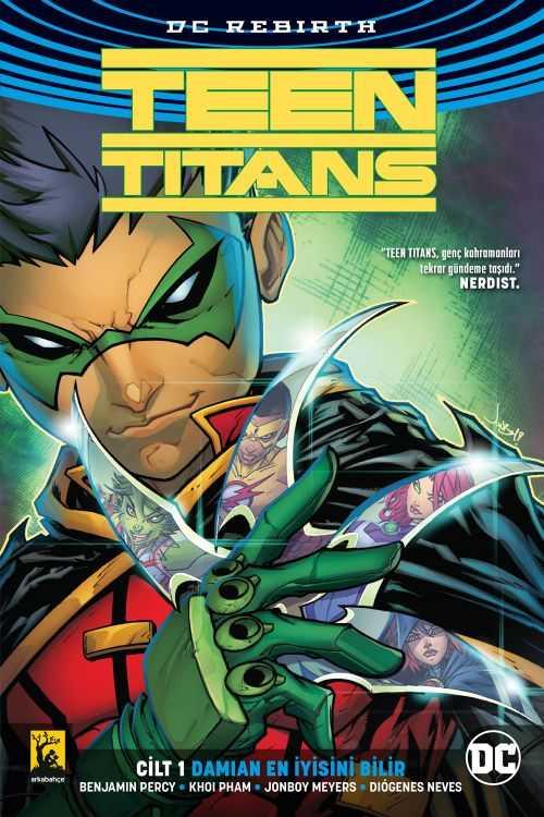 Arkabahçe - Teen Titans (Rebirth) Cilt 1 Damian En İyisini Bilir
