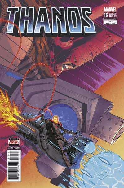 Marvel - Thanos (2016) # 16 2nd Ptg