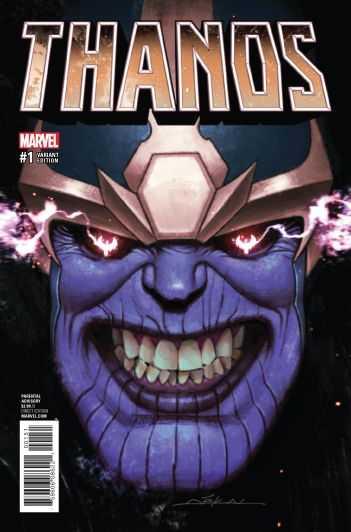 Marvel - Thanos (2016) # 1 Dekal Variant