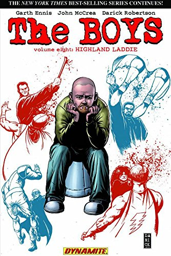 Dynamite - Boys Vol 8 Highland Laddie TPB