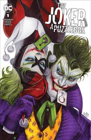 - The Joker Presents : Puzzlebox # 1 Zoe Lachhei Exclusive Variant