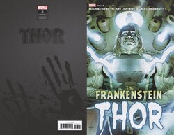Marvel - Thor (2020) # 8 Frankensteins Thor Horror Variant