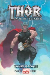 Marmara Çizgi - Thor God of Thunder Cilt 1 Tanrı Kasabı