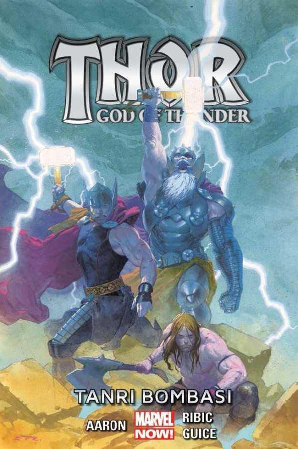 Marmara Çizgi - Thor God of Thunder Cilt 2 Tanrı Bombası