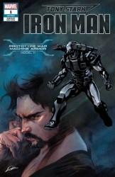 Marvel - Tony Stark Iron Man # 1 Prototype War Machine Armor Variant